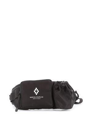 Cross multi compartment nylon belt bag MARCELO BURLON | 5032271 | CMNA019E19A960621001