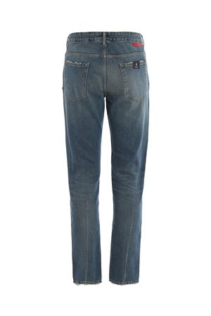 Jeans in denim vintage MARCELO BURLON | 24 | CMYA007E19B280983001