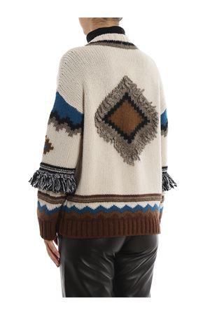 cardigan filato lana e misto alpaca-mohair dis. gaucho MAX MARA | 7 | 53460293GALA001