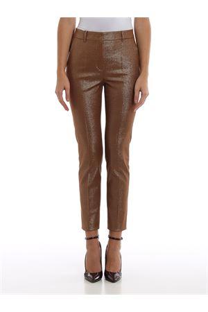pantalone gabardina co/pl monoelastica in trama luminescente MAX MARA | 20000005 | 61360499CILENO002