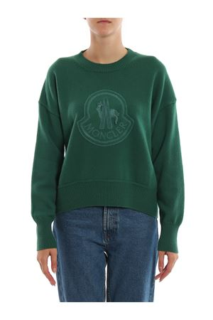 WOOL AND CASHMERE-BLEND KNIT SWEATER  MONCLER | 7 | 9055952A9235844