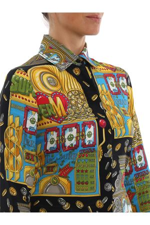 CAMICIA IN TWILL SLOT MACHINE MOSCHINO | 6 | 02045452A1555