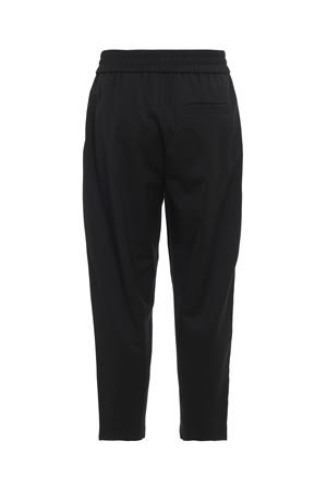 Wool blend trousers with logo bands MOSCHINO | 20000005 | 03395247A1555