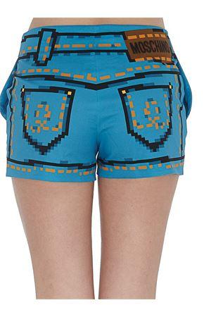 Pantaloncini con stampa pixel MOSCHINO | 20000005 | 03789150A1302