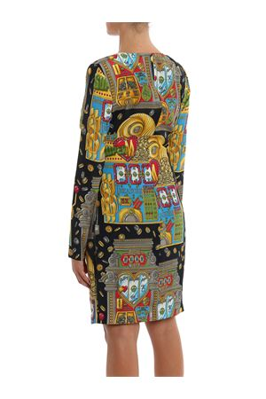 Slot machine twill dress