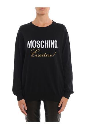 Moschino Couture! jacquard black sweater MOSCHINO | 7 | 09065506A0555