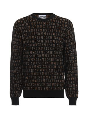 KNITTED SWEATER WITH JACQUARD TWENTY LOGO MOSCHINO | 7 | 09235200A2555