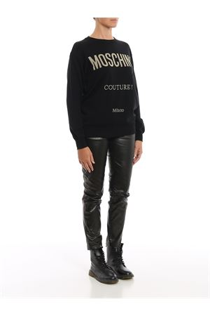 Lurex Moschino Couture ! wool sweater