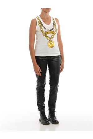 Pixel Moschino jewels sleeveless T-shirt