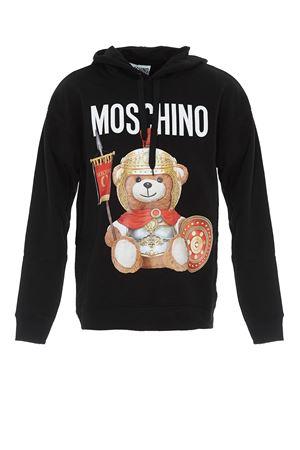 Roman Teddy Bear print black hoodie MOSCHINO | -108764232 | 17055227V1555