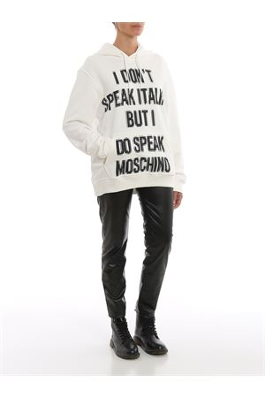 Pixel effect print hoodie