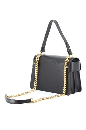 Embossed golden logo leather bag MOSCHINO | 31 | 74568005A1555