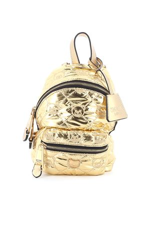 Teddy quilted nylon mini backpack