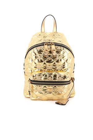 Teddy Bear embroidery quilted backpack