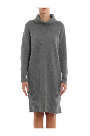 Knitted wool and cashmere dress