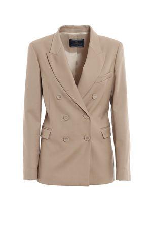 Beige double-breasted blazer PAOLO FIORILLO CAPRI | 3 | 1944BR3013CASHA