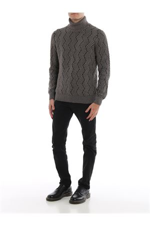Dolcevita spigato in lana e cashmere PAOLO FIORILLO CAPRI | 1 | 2312119617039