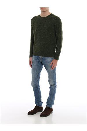 Melange cashmere crew neck sweater PAOLO FIORILLO CAPRI | 7 | 2411426802475