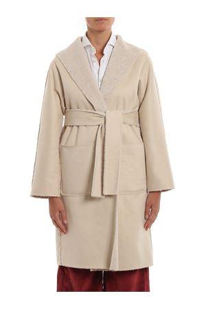 Belted eco shearling coat PAOLO FIORILLO CAPRI | 17 | 25323029CASHA