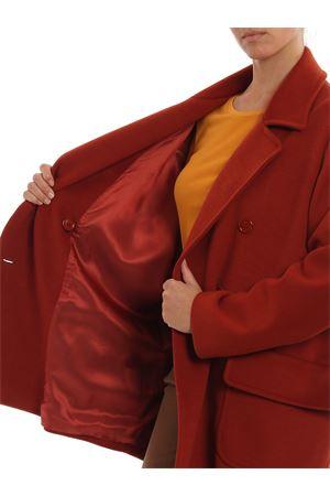 Soft cloth short coat PAOLO FIORILLO CAPRI | 17 | 26382993MATTONE