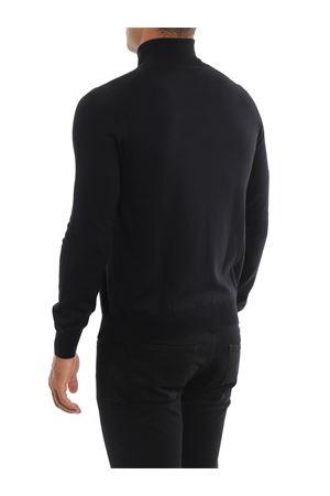 Maglia a collo alto nera in lana PAOLO FIORILLO CAPRI | 7 | 5515714290099