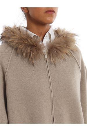 Cappa in lana con bordo in pelliccia PAOLO FIORILLO CAPRI | 5032283 | 85259700986