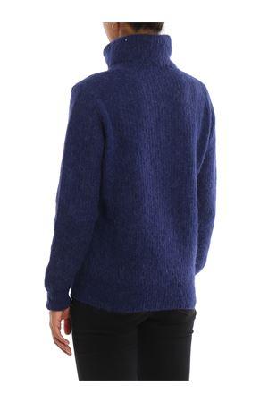 Blue alpaca and wool turtleneck sweater PAOLO FIORILLO CAPRI | 7 | 86340500135