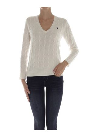 Twist knit wool and cashmere V-neck sweater POLO RALPH LAUREN | 7 | 211508656015