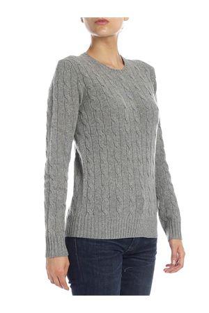 Cable knit merino cashmere sweater POLO RALPH LAUREN | 7 | 211525764009
