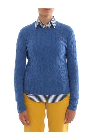 Cable knit merino and cashmere sweater POLO RALPH LAUREN | 7 | 211525764056056