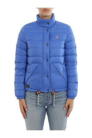 Quilted nylon puffer jacket