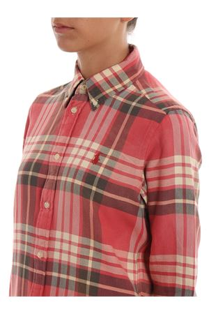 georgia-long sleeve-shirt 211753074001206 RED/NAVY POLO RALPH LAUREN | 6 | 211753074001206 RED/NAVY