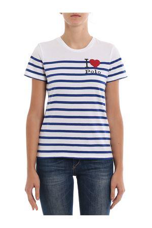 I love Polo striped T-shirt POLO RALPH LAUREN | 7 | 211754351001