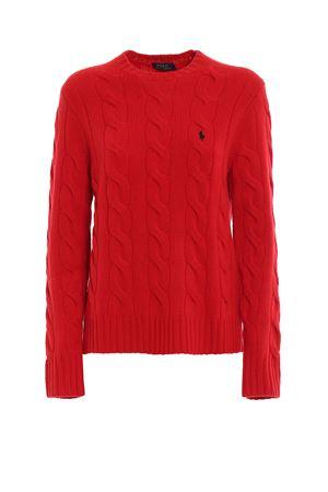 Pull in lana e cashmere con logo ricamato POLO RALPH LAUREN | 7 | 211764605004