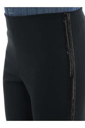 Beaded band stretch viscose trousers POLO RALPH LAUREN | 20000005 | 211773313001