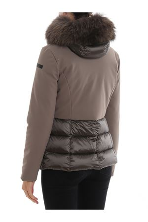 Winter Hybrid Fur puffer jacket
