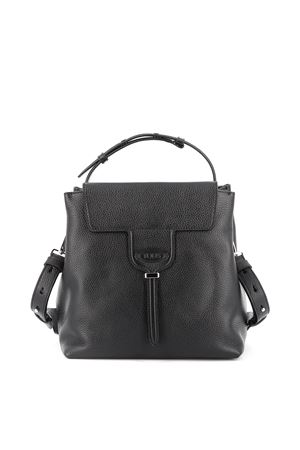 Joy black leather small shoulder bag