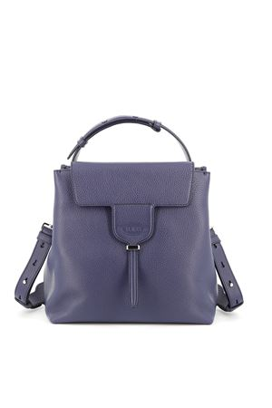 Joy blue leather small shoulder bag