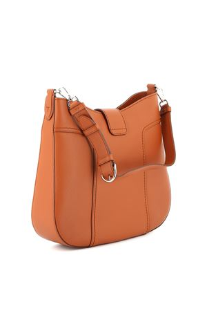 Double T medium leather hobo bag TOD