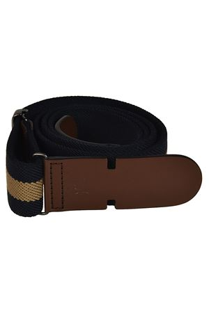 Canvas and leather belt TOD