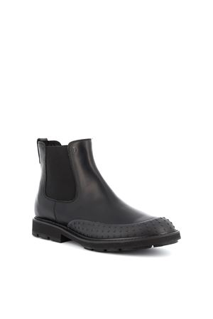 Gommini toe leather Chelsea boots TOD