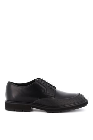 Pebbled leather lace-ups TOD