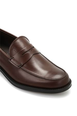 Gomma Classico brushed leather loafers TOD