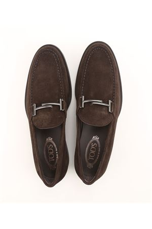 Double T suede loafers TOD
