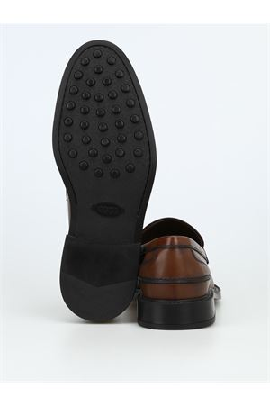Leather formal loafers TOD