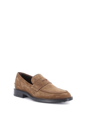 Mocassini in suede beige XXM45A00640RE0S818 TOD