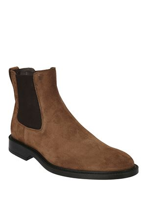 Suede ankle boots with rubber sole TOD