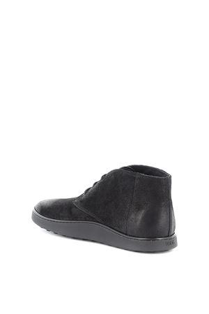 Split leather desert boots TOD