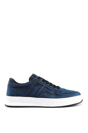 Shaded nubuck sneakers