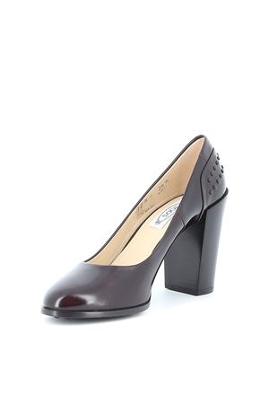 Gommino detailed leather pumps